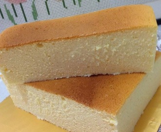 Japanese Cotton CheeseCake  ❤ 日本海绵乳洛蛋糕