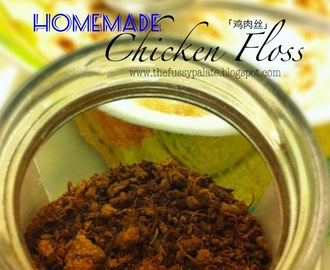 Homemade Chicken Floss