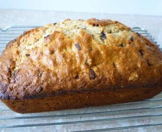Banana Oatmeal Chocolate Chips Bread 香蕉燕麦巧克力面包 (Featured in Group Recipes )