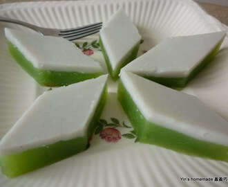 Kuih Talam (Coconut Tray Cake) 娘惹香草糕 - Featured in Group Recipes