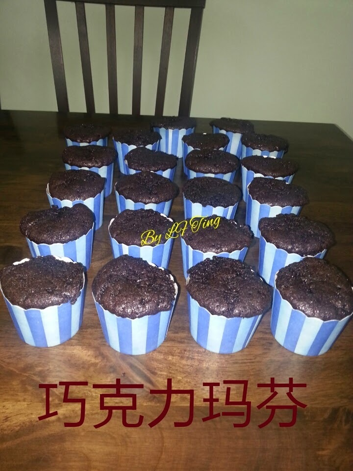 巧克力玛芬 Chocolate Muffin