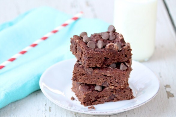 Fudgy Yogurt Brownies… and Happy Valentine's Day!