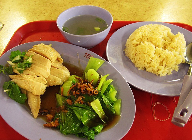 Singapore Hainanese Chicken Rice