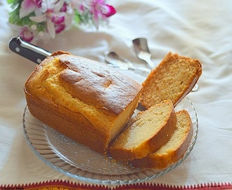 Eggless vanilla cake using condensed milk - easy eggless bakes