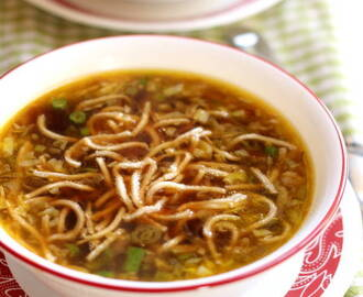 Veg Manchow Soup Recipe, Step by Step Manchow Soup Recipe