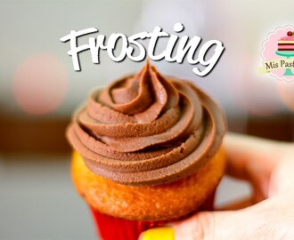 FROSTING DE CHOCOLATE | 2 INGREDIENTES | BETÚN - GANACHE | MIS PASTELITOS