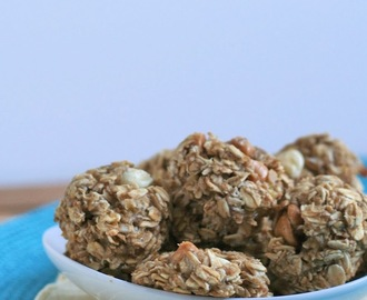 {Fast & Easy} Healthy Oatmeal Banana Cookie Bites