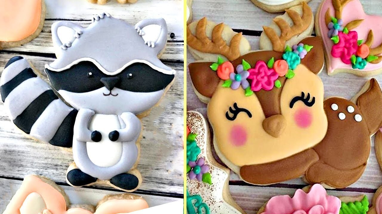 Amazing Cookies Art Decorating Compilation 2018 | Most Satisfying Cake Decorating Videos # 63