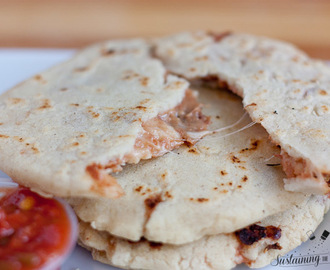 Recipe: Bean and Cheese Pupusas + Meal Plan Monday Week 7