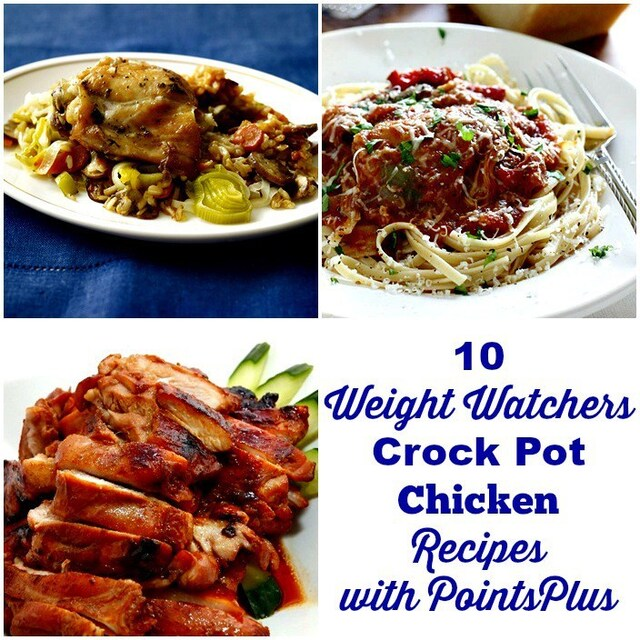 10 Weight Watchers Crock Pot Chicken Recipes