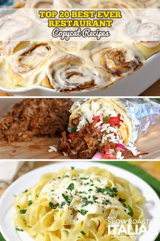 Top 20 Restaurant Copycat Recipes