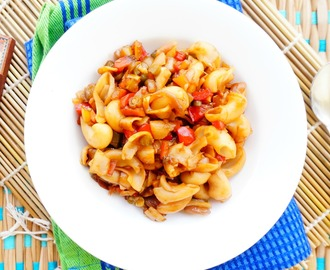 How to make Chinese style Macroni