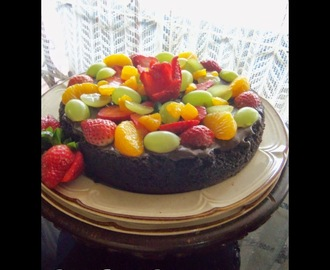 Choco Fruit Cake - My Best Seller