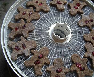 Healthful holiday treats - Raw gingerbread recipe