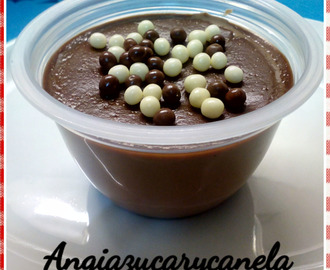 Flan de chocolate en Thermomix