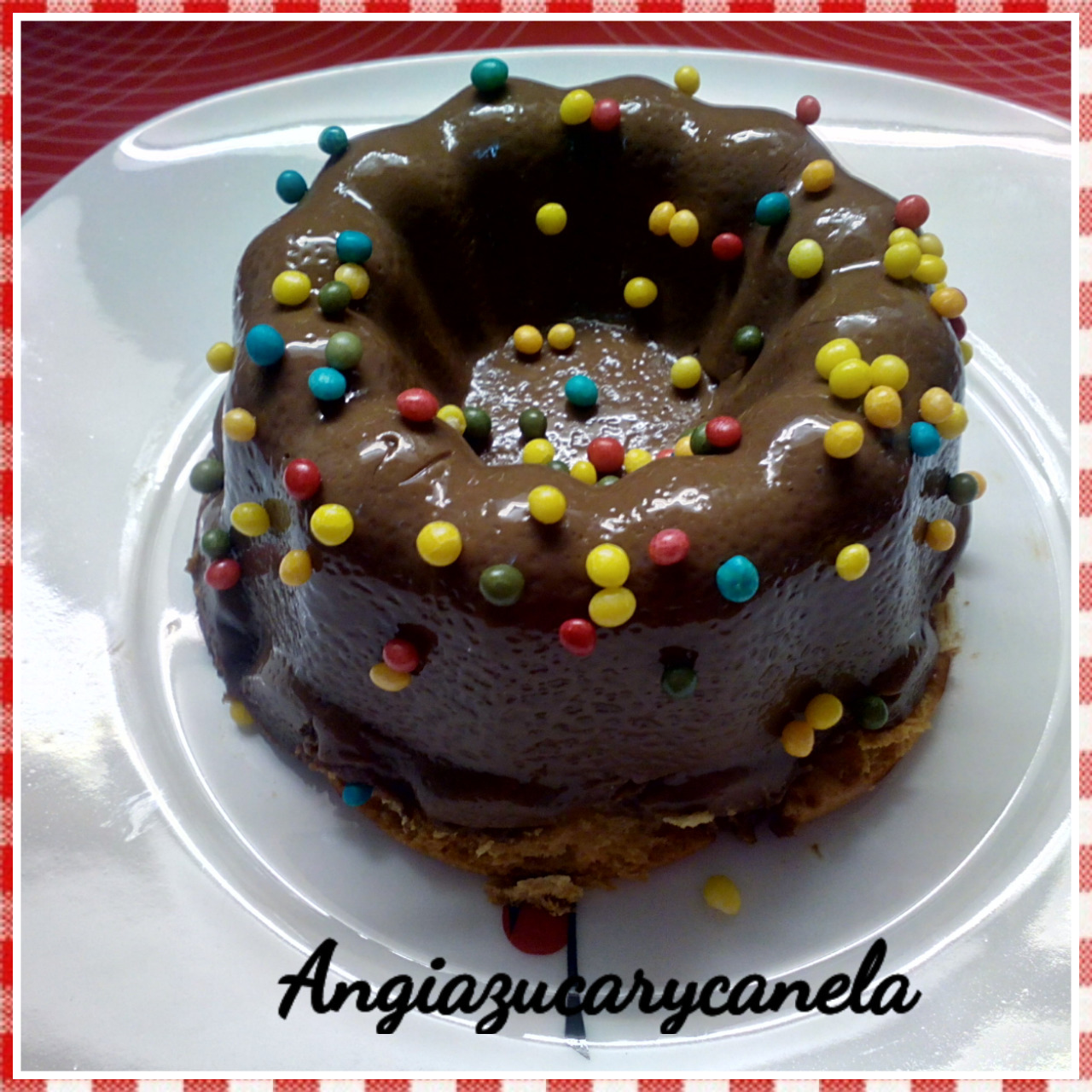 Tarta de Chocolate 1 en Thermomix