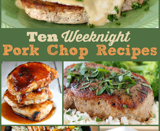10 Weeknight Pork Chop Recipes