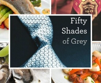 50 Flavors of Grey – 50 Shades of Grey Food Menu