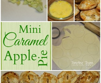 Mini Caramel Apple Pie