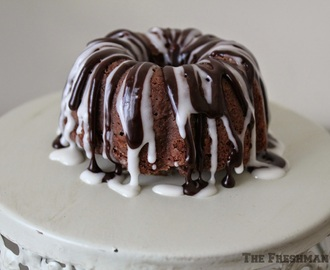 Triple Chocolate Buttermilk Bundt Cake/#BundtBakers