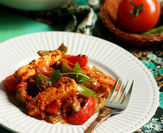 Restaurant Style Paneer Jalfrezi Recipe | How to Make Paneer Jalfrezi