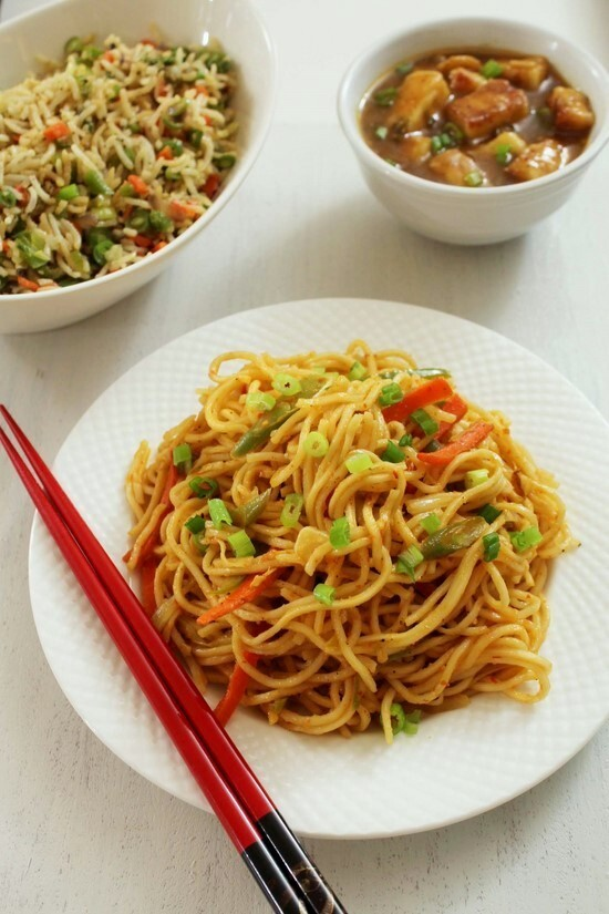 Schezwan Noodles Recipe | How to make Veg Schezwan Noodles