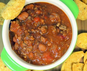 CHILI - Brown and Dump Crock Pot EASY! - 52 Soup and Chili Recipes