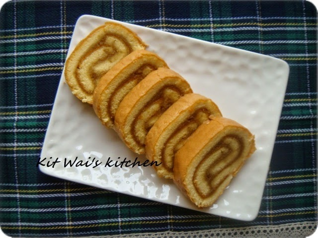 咖椰瑞士卷 ~ Kaya Swiss Roll