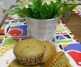 Honey Green Tea Muffins