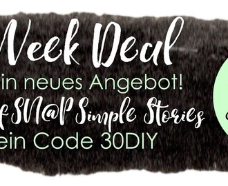 Black Week Deal -30% auf SN@P - Simple Stories
