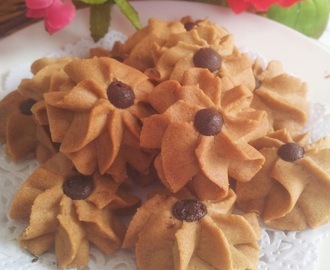 ~~ White Coffee Butter Cookies ~ 白咖啡牛油饼  ~~