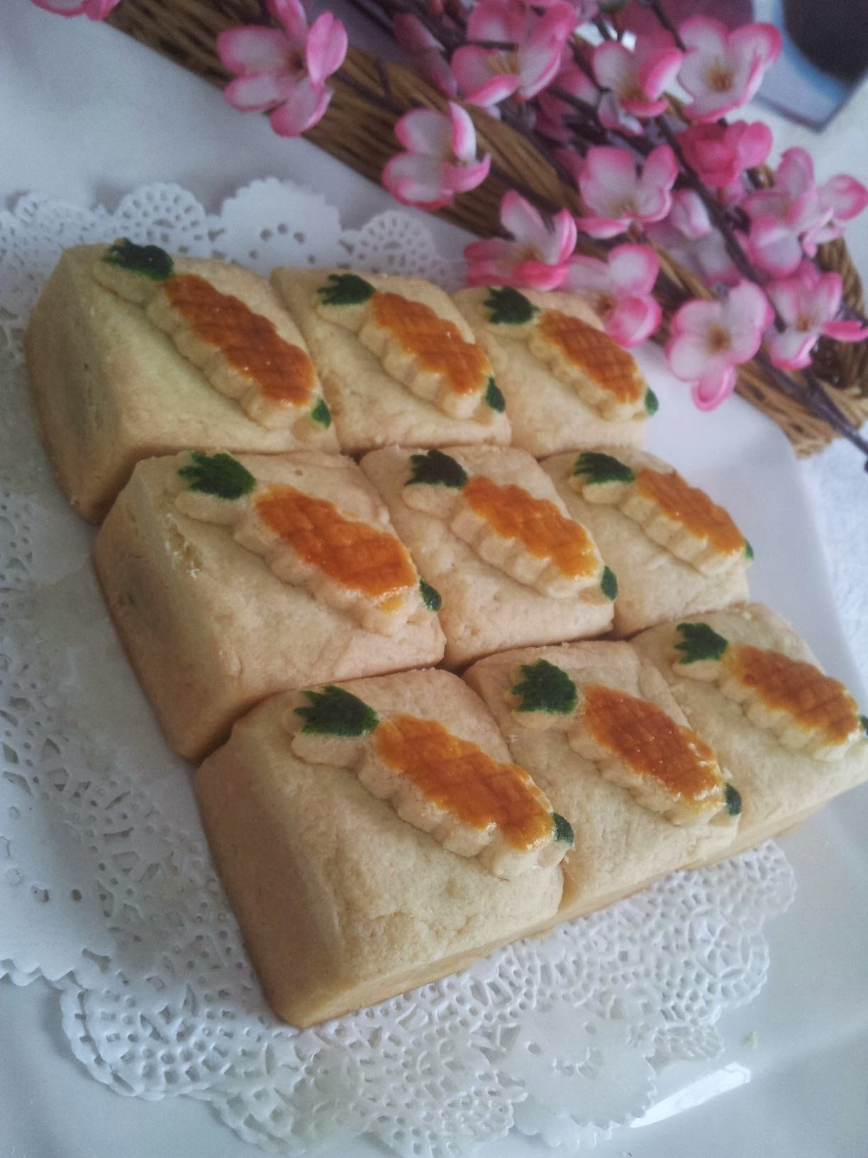 ~~  Cheesy Pineapple Tart  ~~ 奶酥黄梨饼  ~~