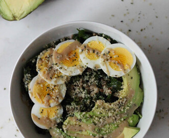 Massaged Kale & Buckwheat Bowl