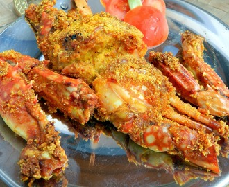 Fried Crabs | Rava Fried Crabs | Crab Fry | Goan Recipes