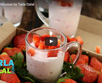 Strawberry Mousse Recipe Video