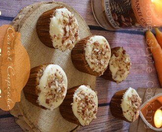 Carrot Cupcake { Cream Cheese Glacage}