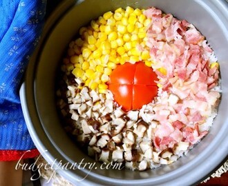 Rice Cooker Tomato Rice