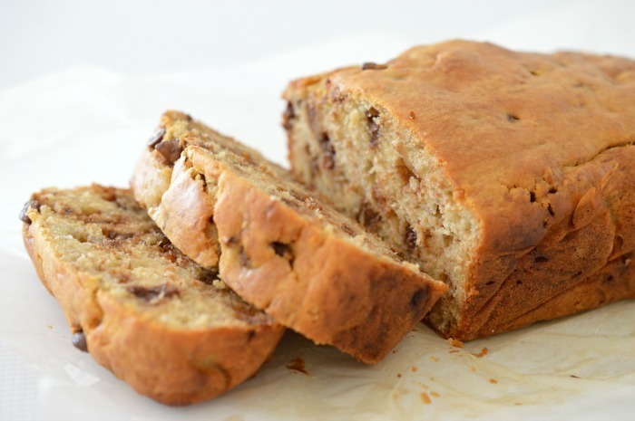 Thermomix Chocolate Chip Banana Bread