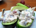 Refreshing Cucumber Salad Boats.