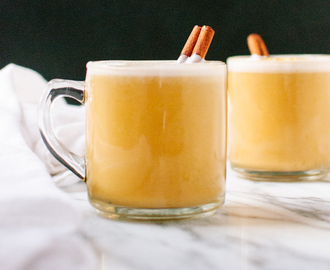 Homemade Pumpkin Chai Latte