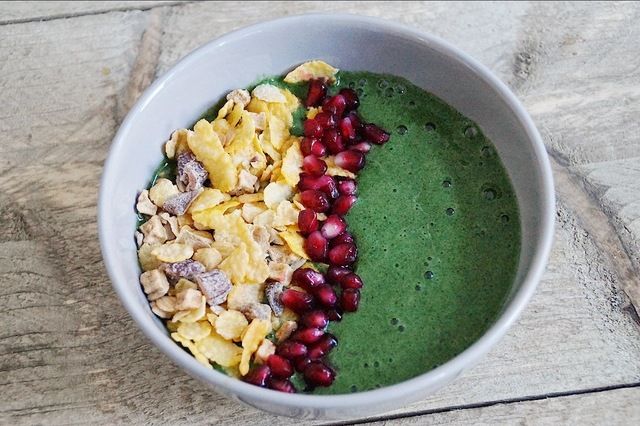 Groene smoothiebowl