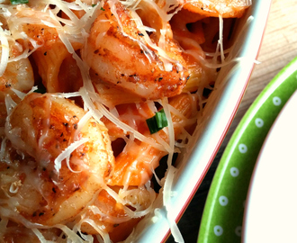 Easy Shrimp with Pasta