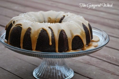Guinness Chocolate Cake with Salted Caramel Icing