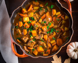 Pumpkin Guinness Stew