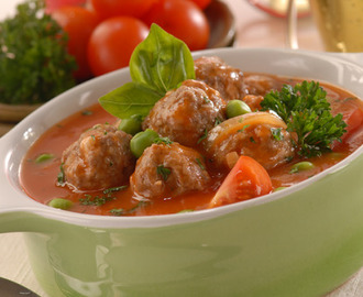 Resep Sup Tomat Bola Daging