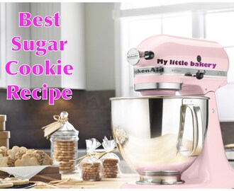 Best sugar cookie recipe. My little bakery🎀