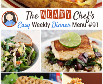 Easy Weekly Dinner Menu #91