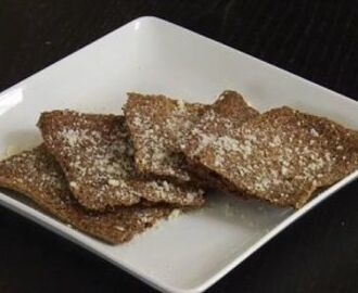 Garlic Parmesan Flax Seed Crackers Recipe