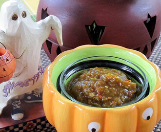 But I love Halloween, and I love that feeling: the cold air, the spooky dangers lurking around the corner.  Evan Peters – and Mexican Pumpkin Seed Sauce