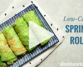 Low-Carb Spring Rolls